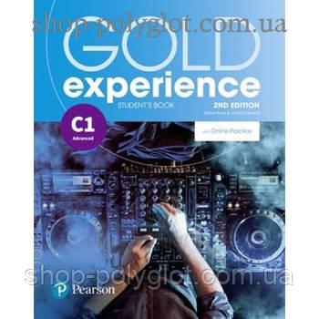 Підручник англійської мови Gold Experience Second Edition C1 student's Book with Online Practice