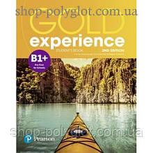 Учебник английского языка Gold Experience Second Edition B1+ Student's Book
