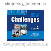 Диски New Challenges 4 Class CDs