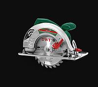 Циркулярная пила ручная DWT HKS12-59 (пила по дереву, дисковая пила, сменный диск, гарантия 2 года)