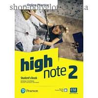 Учебник High Note Level 2 Student's Book with Online Practice