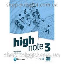 Рабочая тетрадь High Note Level 3 Workbook