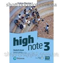Учебник High Note Level 3 Student's Book with Online Practice
