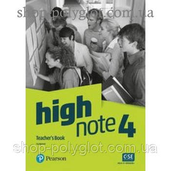 Книга для вчителя High Note Level 4 teacher's Book