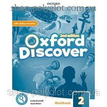 Рабочая тетрадь Oxford Discover (2nd Edition) 2 Workbook with Online Practice