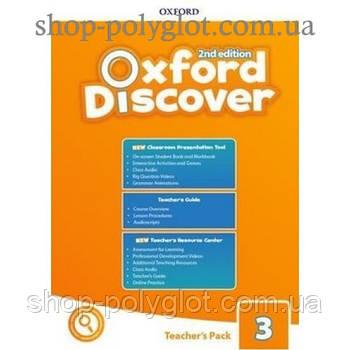 Книга для вчителя Oxford Discover (2nd Edition) 3 teacher's Pack