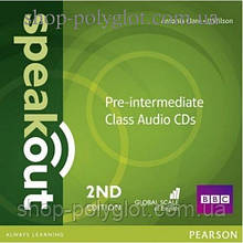 Диски Speakout (2nd Edition) Pre-Intermediate Class CD (2)