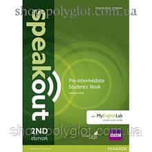 Учебник английского языка Speakout (2nd Edition) Pre-Intermediate Student's Book with DVD-ROM and MyLab Pack