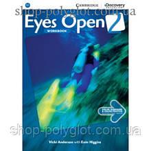 Рабочая тетрадь Eyes Open Level 2 Workbook with Online Practice