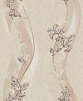 Обои Виниловые на бумажной основе 05м LS ВКС2-1310 Дания декор 0,53м X 10,05м Бежевый 2000000540504