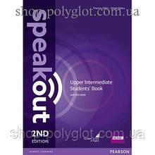 Учебник английского языка Speakout (2nd Edition) Upper-Intermediate Student's Book with DVD-ROM