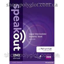 Учебник английского языка Speakout (2nd Edition) Upper-Intermediate Student's Book with DVD-ROM and MyLab Pack