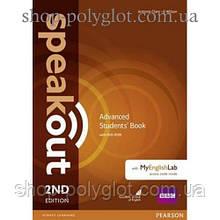 Учебник английского языка Speakout (2nd Edition) Advanced Student's Book with DVD-ROM and MyLab Pack