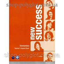 Книга для учителя New Success Elementary Teacher's Book & DVD-ROM Pack