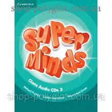 Диски Super Minds 3 Class Audio CDs (3)