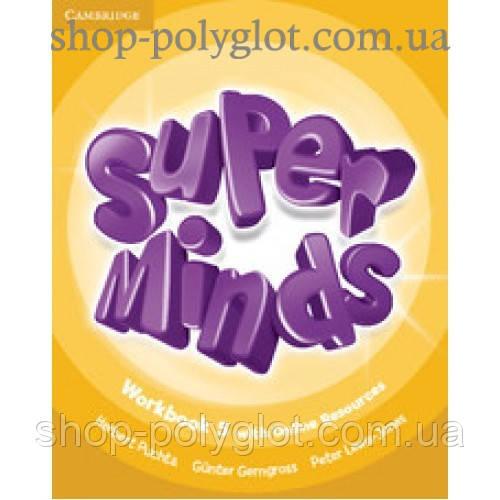 Рабочая тетрадь Super Minds 5 Workbook with Online Resources