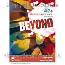 Учебник английского языка Beyond A2+ Student's Book + Code + Online Workbook
