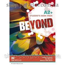 Учебник английского языка Beyond A2+ Student's Book + Code to Audio and Video Material