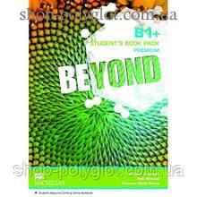 Учебник английского языка Beyond B1+ Student's Book + Code + Online Workbook