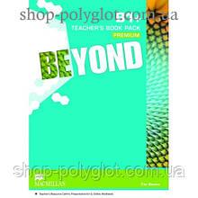 Книга для учителя Beyond B1+ Teacher's Book Premium Pack