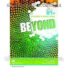 Учебник английского языка Beyond B1+ Student's Book + Code to Audio and Video Material