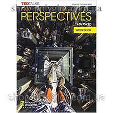 Рабочая тетрадь Perspectives Advanced Workbook with Audio CD
