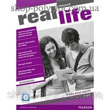 Рабочая тетрадь Real Life Advanced Workbook + Multi-ROM