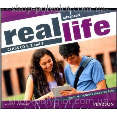 Диски Real Life Advanced Class Audio CDs (3)