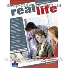 Книга для учителя Real Life Pre-Intermediate Teacher's Handbook