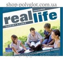 Диски Real Life Intermediate Class Audio CDs (4)