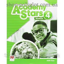 Рабочая тетрадь Academy Stars 4 Workbook