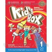 Учебник английского языка Kid's Box Updated Second edition 1 Pupil's Book