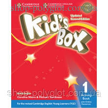 Рабочая тетрадь Kid's Box Updated Second edition 1 Activity Book with Online Resources