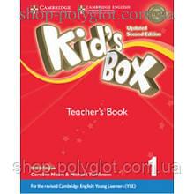 Книга для учителя Kid's Box Updated Second Edition 1 Teacher's Book