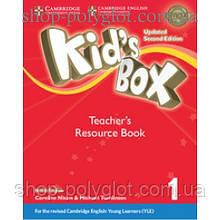 Книга для учителя Kid's Box Updated Second edition 1 Teacher's Resource Book with Online Audio