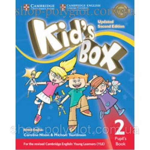 Учебник английского языка Kid's Box Updated Second edition 2 Pupil's Book