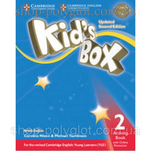 Рабочая тетрадь Kid's Box Updated Second edition 2 Activity Book with Online Resources