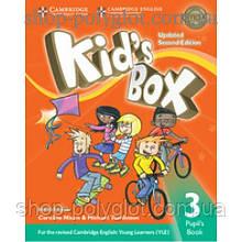 Учебник английского языка Kid's Box Updated Second edition 3 Pupil's Book