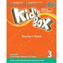 Книга для учителя Kid's Box Updated Second Edition 3 Teacher's Book