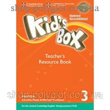 Книга для учителя Kid's Box Updated Second edition 3 Teacher's Resource Book with Online Audio