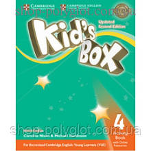 Рабочая тетрадь Kid's Box Updated Second edition 4 Activity Book with Online Resources