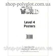 Плакаты Our World 4 Poster Set