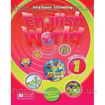 Книга для вчителя English World 1 teacher's Book & eBook Pack