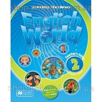Книга для вчителя English World 2 teacher's Book & eBook Pack