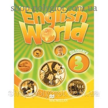 Словник англійської мови English World Dictionary 3