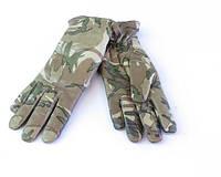 Перчатки утепленные кожаные MTP Combat Gloves MKII, б/у, фото 1