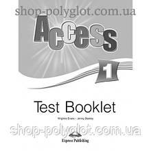 Тесты по английскому языку Access 1 Test Booklet