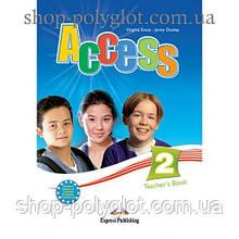 Книга для учителя Access 2 Teacher's Book