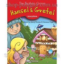 Книга для чтения Hansel and Gretel (Storytime Level 2) Reader with Application