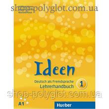 Книга для учителя Ideen 1 Lehrerhandbuch
